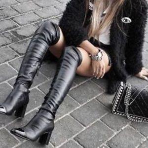 Zara over the knee boot